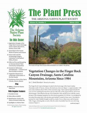 The Arizona Native Plant Society